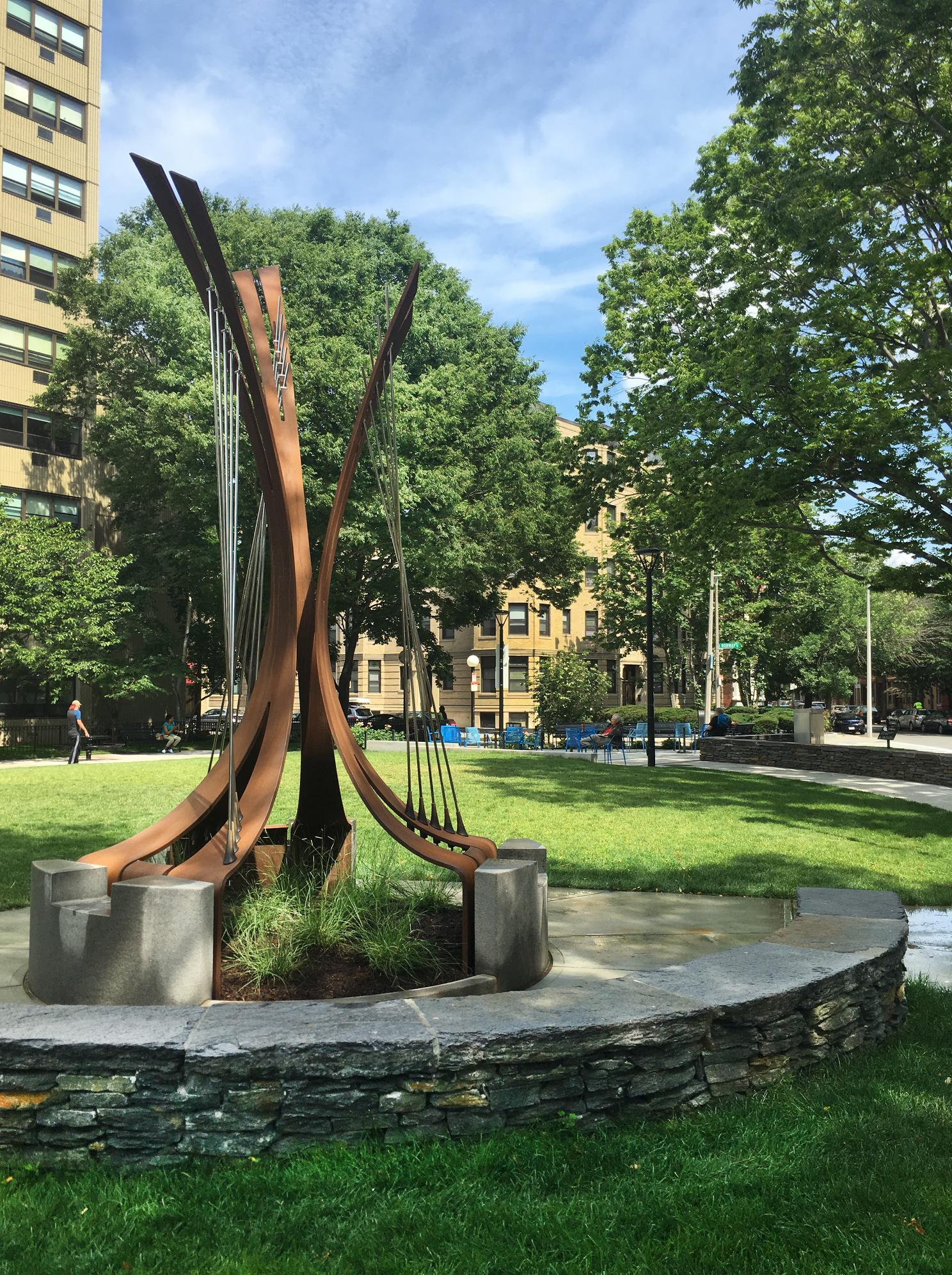 Symphony Park Sculpture Unveiled!
