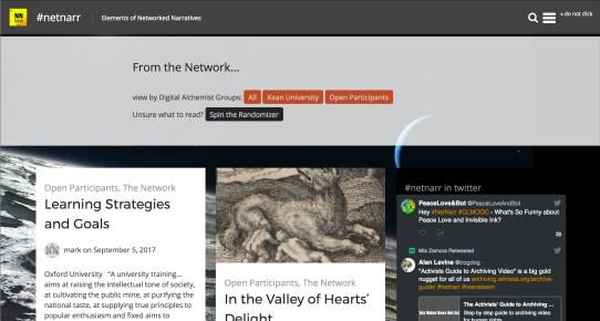 Networked Narratives (netnarr.arganee.world)