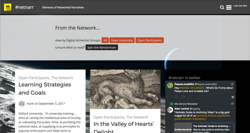 Networked Narratives