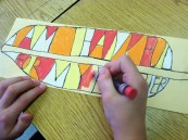 3rd Grade Turkey Feather