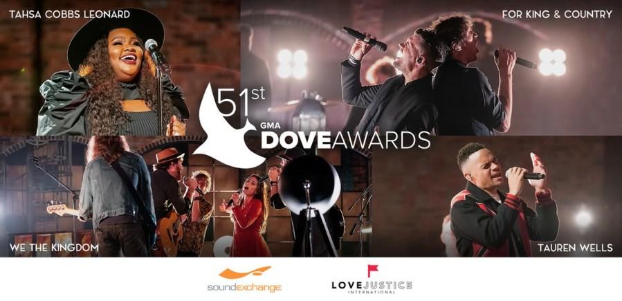51st Annual GMA Dove Award winners