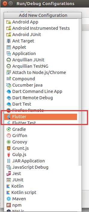 Select Flutter