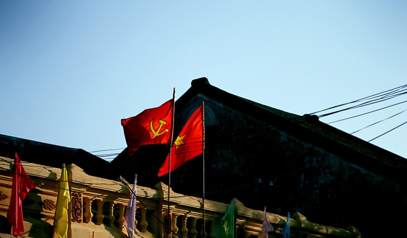 Vietnamese flag in Hoi An, Vietnam. Source: Jaako's flickr photostream, used under a creative commons license.