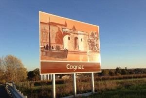 Cognac France Sign
