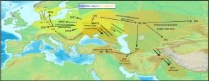 R1a migration
