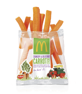 Mcdonalds carrot sticks