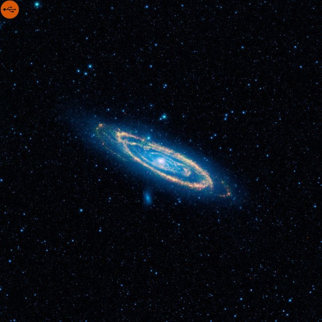 Andromeda galaxy, definition and study. A-Z index of Cognitio.