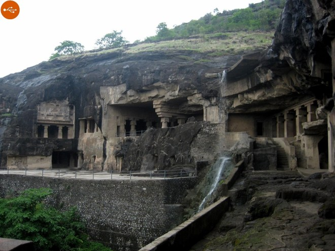 Ajanta caves, definition and study. A-Z index of Cognitio.