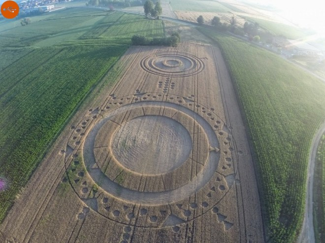 Crop circles, definition and study. A-Z index of Cognitio.