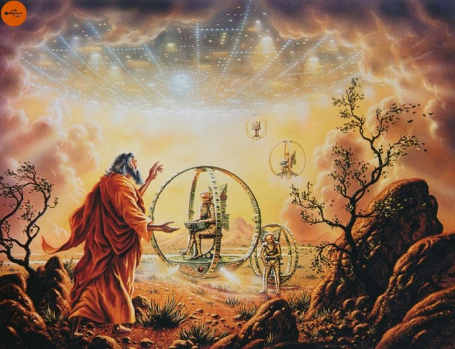 Book of Ezekiel, the decisive proof of an ancient alien presence. Original article by Alessandro Brizzi.