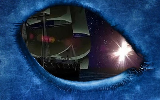 Christopher Columbus, and the sightings of light of 1492. Original article by Alessandro Brizzi.