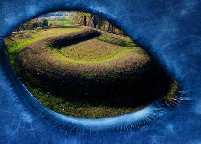 Great Serpent Mound, has an alien origin of creation