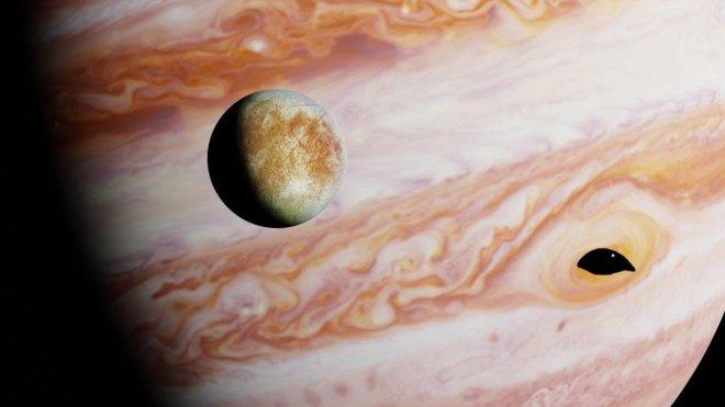 Europa, Jupiter's moon full of alien life!