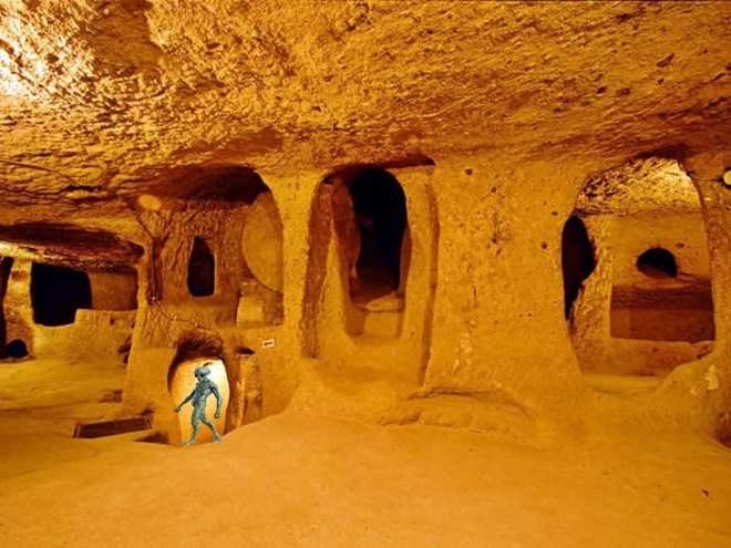 Derinkuyu, the ancient city underground built to protect humanity?