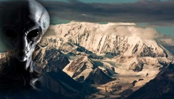 CIA, Analyst discovers an alien base under Mount Hayes, ALASKA