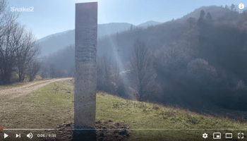 Disappeared, the Monolith in Utah, but appears in Romania!!!