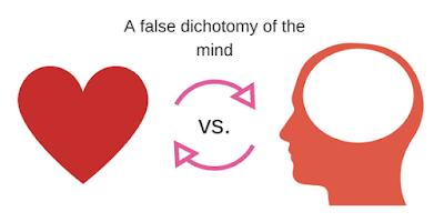 The heart vs. the mind debate