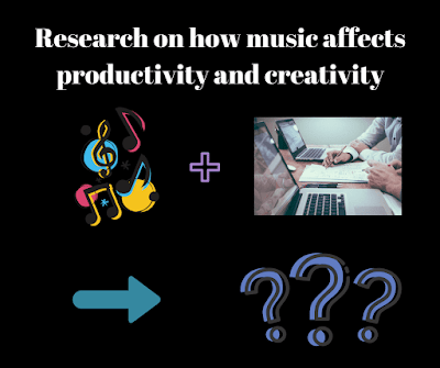 The effect of background music on creativity, learning, productivity, and work environment.