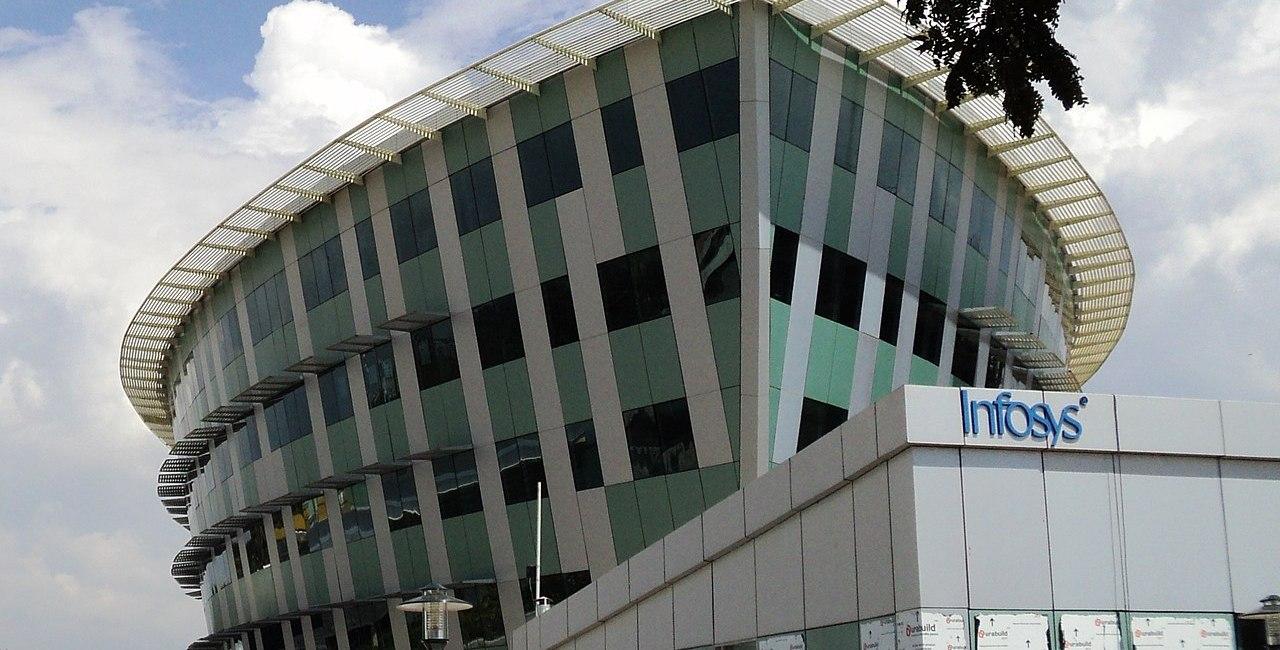Photo: Infosys building in Thiruvananthapuram, India. (Credit:Binoyjsdk)