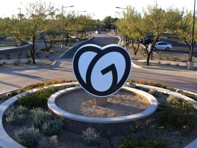 Image from GoDaddy's Tempe, AZ offices courtesy of GoDaddy Operating Company, LLC