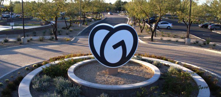 Image from GoDaddy's Tempe, AZ offices courtesy of GoDaddy Operating Company, LLC