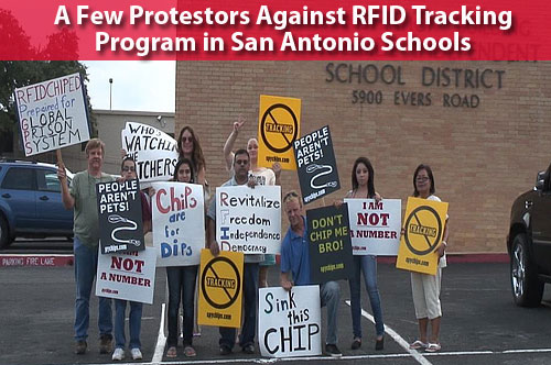 Radio Chipping Students; Texas School District Requires RFID Tracking