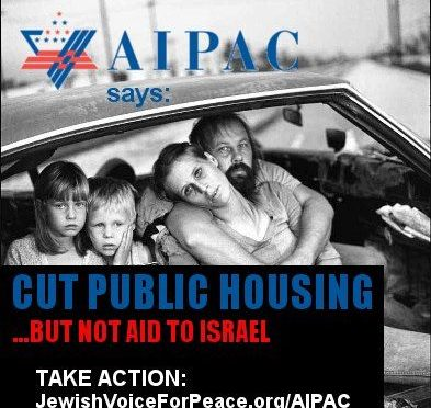 AIPAC Or US: Tell Congress Aid To Israel Should Take The First Cut