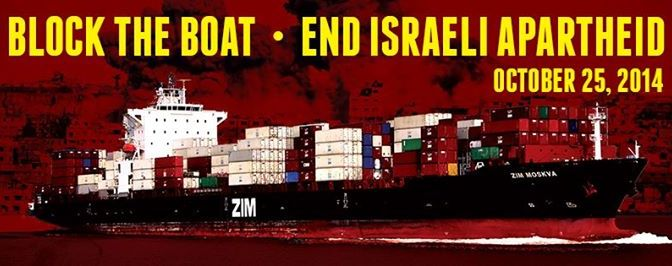 Block The Boat for Palestine!