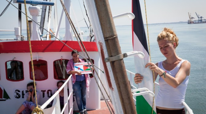 Women's Boat To Gaza To Break The Illegal Israeli Siege