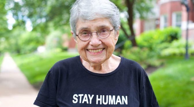 Hedy Epstein's Message To The World: STAY HUMAN