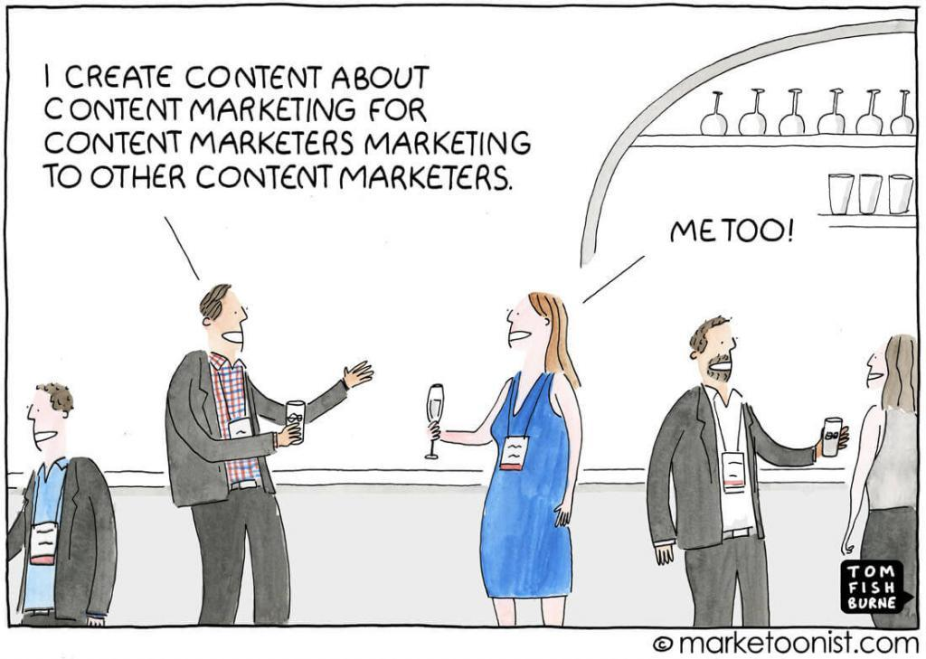 content marketing for marketers
