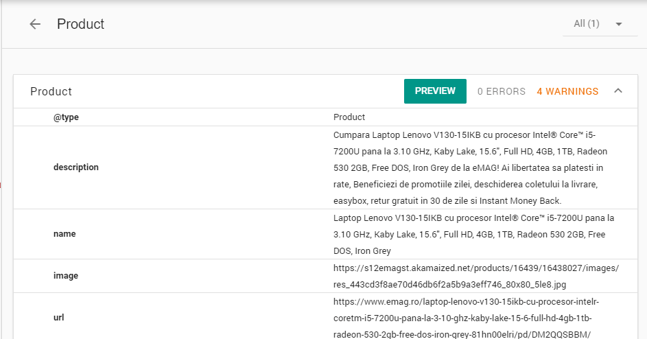 Structured Data SEO Tool