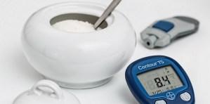 Azúcar y medidor