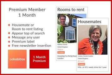1 month Premium member Cohabitas