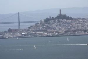 San Francisco, Bay Bridge and the bay
