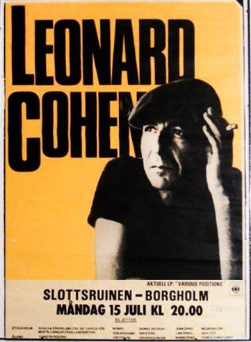 July 15, 1985 Concert at Slottsruinen, Borgholm, Sweden (contributed by Lena Wahlund)