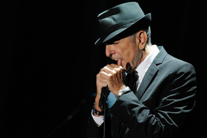 Leonard Cohen - Florence 2010. Photo by Paolo Brillo.