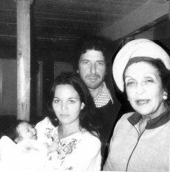 Adam Cohen in arms of his mother, Suzanne Elrod, with father, Leonard Cohen, & grandmother, Masha Cohen – Montreal 1972 . Posted Feb 13, 2014 by Adam Cohen at Leonard Cohen Facebook page