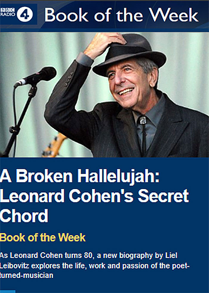 Hear BBC\'s Readings From A Broken Hallelujah: Leonard Cohen\'s Secret ...