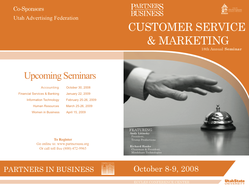 Customer Service Marketing Seminar