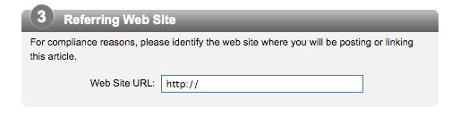 AP Referring Web Site