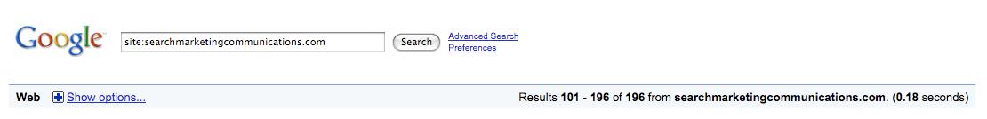 Site:SearchMarketingCommunications.com