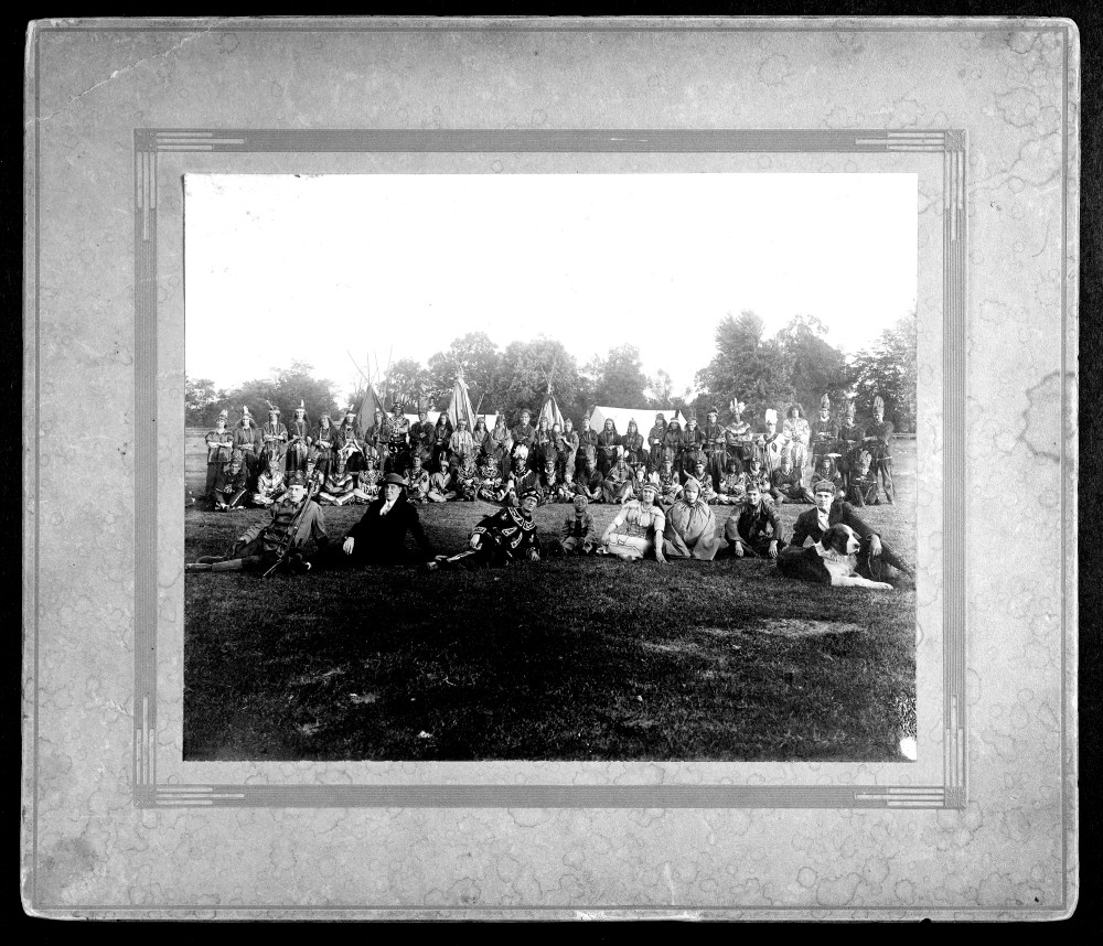 Photo of Pamunkey Tribe (1898)
