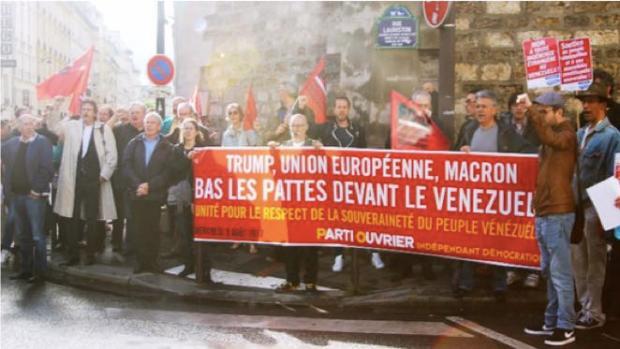 Manif France Venezuela