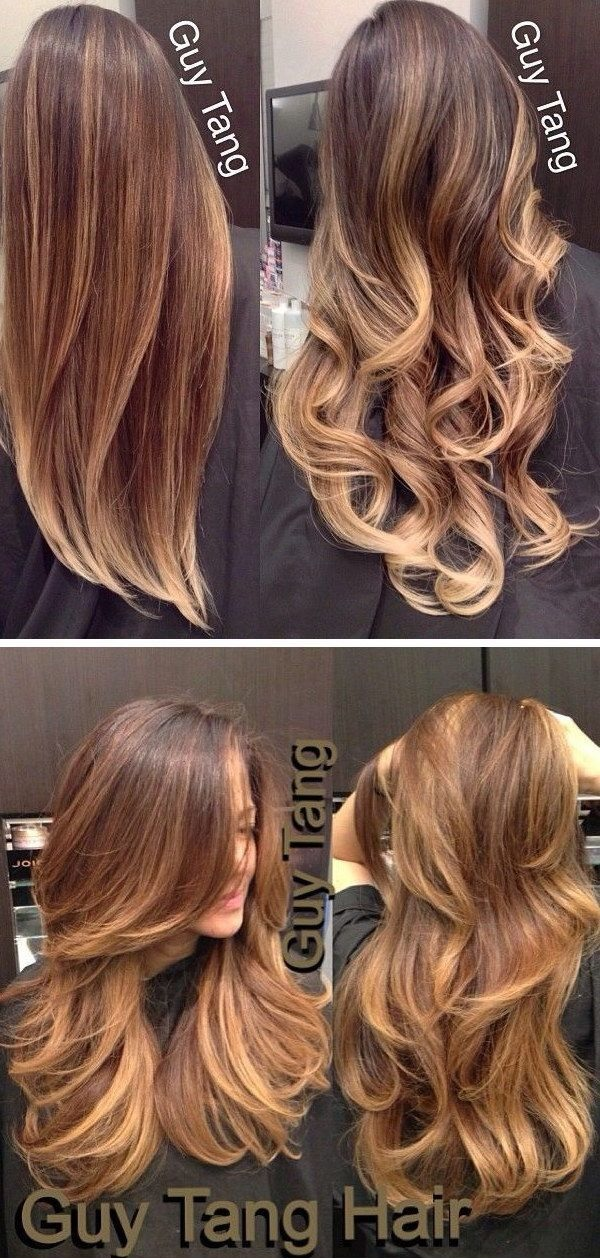 20 Colorations Ombr Hair Chic Et Tendance Coiffure