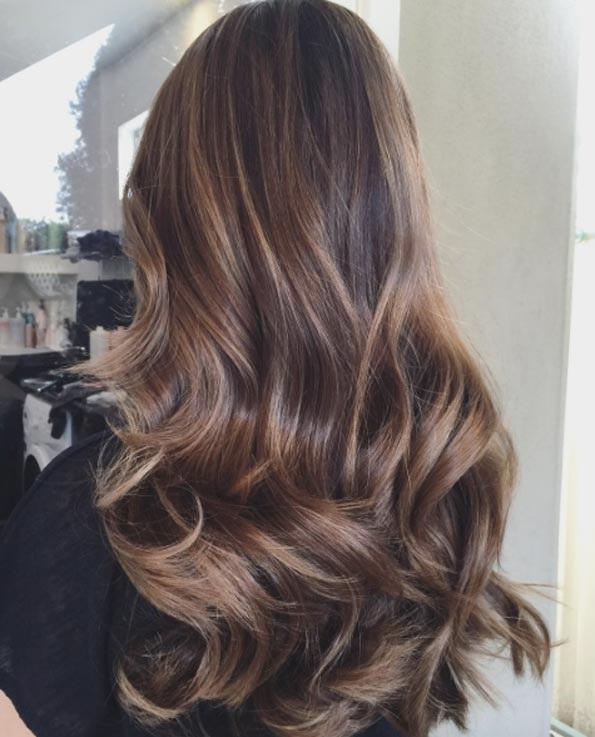 Balayage Cheveux Marron Caramel Les Plus Beaux Modles