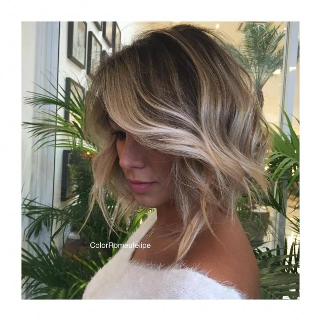 Ombr Hair Sur Les Coupes Courtes La Tendance Que Vous