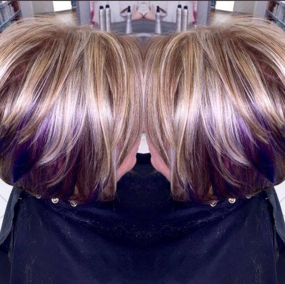 Belles Couleurs Cheveux Tendance T 2018 Coiffure