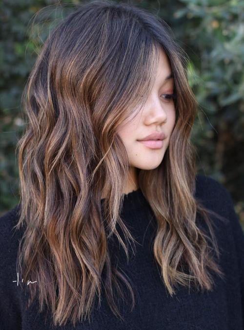 Cheveux Mi Longs 50 Nouvelles Ides De Coupes Et