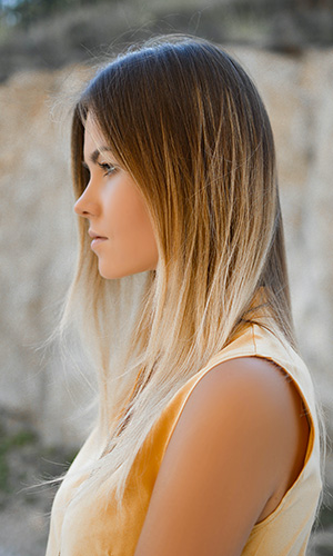 Ombre Hair Tie And Dye Salon Jolies Momes Coiffure Orleans